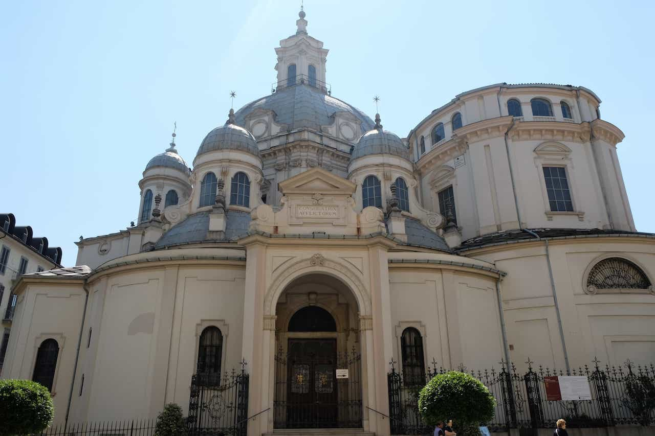 The church of Santa Maria della Consolata